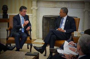 Meeting between the NATO Secretary General and the US President