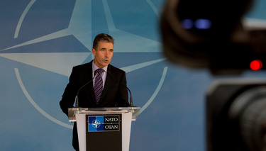Press point by NATO Secretary General Anders Fogh Rasmussen following the meeting of the NATO-Ukraine Commission