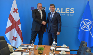 Bilateral meeting between the NATO Secretary General and the President of Georgia