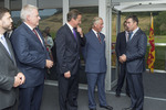 NATO Secretary General meets the Prince of Wales - NATO Wales Summit