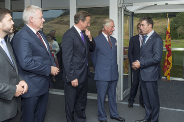 NATO Secretary General meets with Prince of Wales