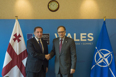 Bilateral meeting with the NATO Deputy Secretary General and Georgia