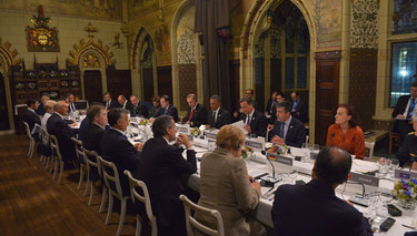 Official dinner with Heads of State and Government