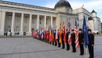 NATO Military Committee Conference -  Official Welcome Ceremony at Cathedral Square with Military Honours