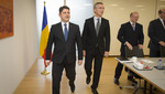 The Minister of Foreign Affairs of Romania visits NATO