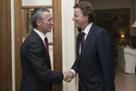 Foreign Affairs Minister of the Netherlands meets NATO Secretary General