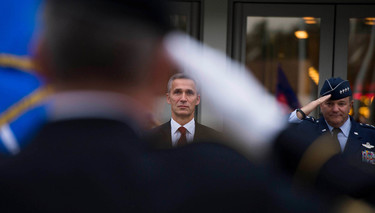 NATO Secretary General visits Headquarters of Allied Command Operations (SHAPE)