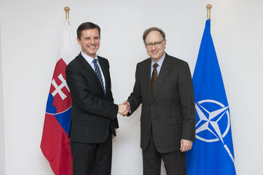 Deputy Defence Minister of the Slovak Republic visits NATO