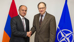 Minister of Defence of Armenia visits NATO
