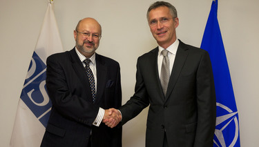 Visit to NATO by the OSCE Secretary General