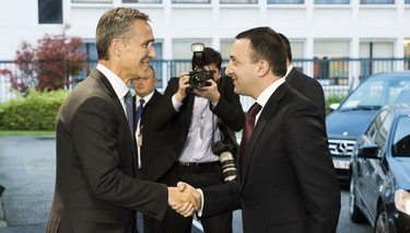 Prime Minister of Georgia visits NATO