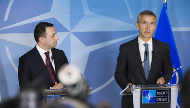 Joint press point by NATO Secretary General Jens Stoltenberg and Prime Minister Irakli Garibashvili of Georgia