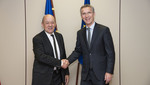 NATO Secretary General meets Minister of Defence of France