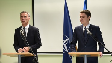 Joint press point by NATO Secretary General Jens Stoltenberg and Prime Minister Taavi Rõivas of Estonia