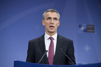 Meetings of the Foreign Ministers at NATO Headquarters in Brussels - Press Conference NATO Secretary General Jens Stoltenberg
