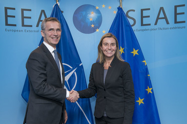 NATO Secretary General meeting with the European Union High Representative for Foreign Affairs