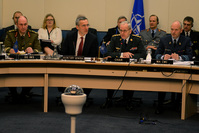 Military Committee in Chiefs of Defence Session with NATO Secretary General Jens Stoltenberg