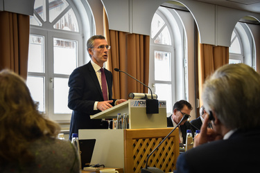 NATO Secretary General addresses Bavarian CSU annual meeting