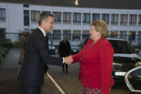 The Prime Minister of Norway visits NATO