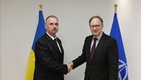 Deputy Secretary General of the Ukrainian National Security and Defence Council  vistis NATO
