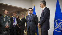 The Minister of Foreign Affairs of Ukraine visits NATO