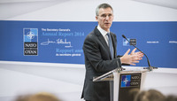 NATO Secretary General's monthly press conference and release of his 2014 Annual Report