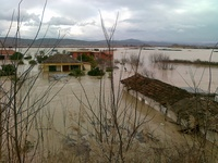 Snowfall and floods in Albania