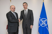 Bilateral meeting with Georgia - Meeting of NATO Defence Ministers