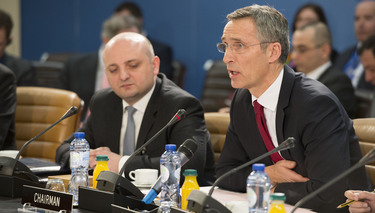 Opening remarks by the NATO Secretary General Jens Stoltenberg at the meeting of the NATO-Georgia Commission in Defence Minister Session