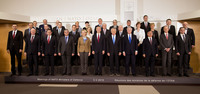 Meetings of the Defence Ministers at NATO Headquarters in Brussels - Official Group Photograph