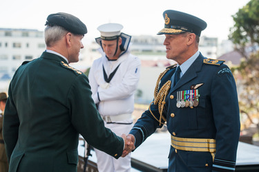 The Chairman of the NATO Military Commitee visits New Zealand