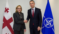 The Minister of Foreign Affairs of Georgia visits NATO