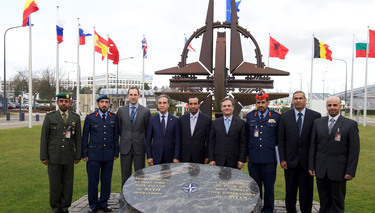 Visit to NATO HQ of an inter-ministerial delegation from the United Arab Emirates