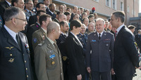 NATO Secretary General visits NATO Defense College (Rome)