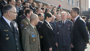 NATO Secretary General visits NATO Defense College and Allied Joint Force Command Headquarters in Naples