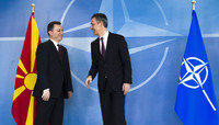 The Prime Minister of the Former Yugoslav Republic of Macedonia¹ visits NATO