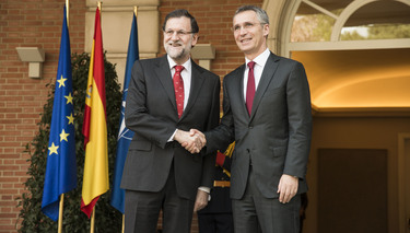 The NATO Secretary General visits Madrid