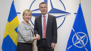 The Minister of Foreign Affairs of Sweden visits NATO