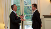 NATO Secretary General meets Foreign Affairs Minister of Norway