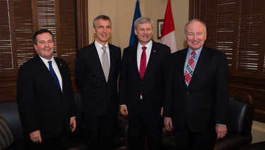 Secretary General: Canada is a committed and capable NATO Ally