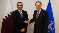 Assistant Foreign Affairs Minister of Qatar visits NATO