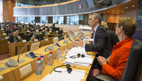 NATO Secretary General Jens Stoltenberg addresses European Parliament