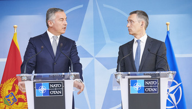 NATO Secretary General welcomes Montenegro's progress on its Euro-Atlantic path