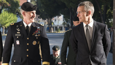 The NATO Secretary General and the North Atlantic Council visit LANDCOM, Izmir