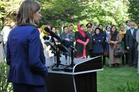 NATO Special Representative for Women, Peace and Security visits Afghanistan