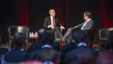 NATO Secretary General participates in POLITICO debate