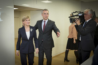 Minister of Foreign Affairs of Australia vists NATO