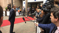 NATO Secretary General attends meeting of the EU Foreign Affairs Council