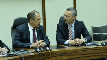 NATO Secretary General meets Russian Foreign Minister