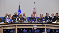 Military Committee in Chiefs of Defence Session - MC/CS with Georgia